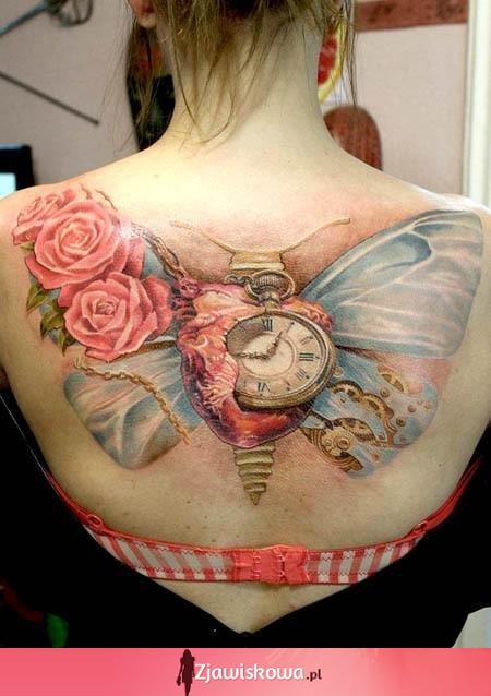 Zjawiskowapl Tatuaże Z Motywem Motyli Który Najlepszy